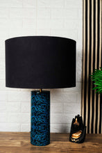 Load image into Gallery viewer, Galaxy Table Lamp with 2 [BLACK, BEIGE] Lampshade