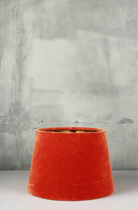 Small Orange Color Lampshade for Table Lamps