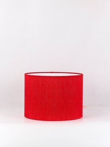Small Red Color Shade for your Table Lamp (10inches)