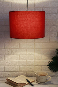 red lampshade buy online