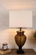 Load image into Gallery viewer, Strawberry Drop Table Lamp with Rectagular White Lampshade