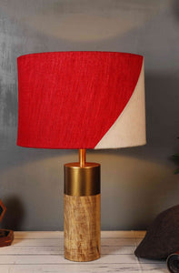 Natural Wooden Table Lamps