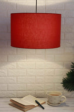 Load image into Gallery viewer, red lampshade