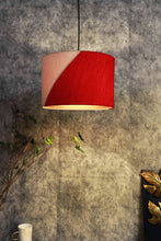 Load image into Gallery viewer, Red & White Color Shade Hanging Lamp for home decor