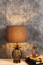 Load image into Gallery viewer, Tropical Table Lamp with 4 [BLACK, RED, GREY, GREEN VELVET] Round Shade