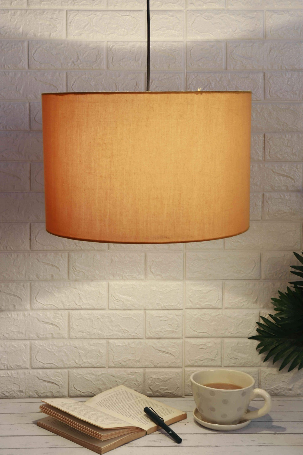 Big Yellow Color Hanging Lampshade [16 Inches]