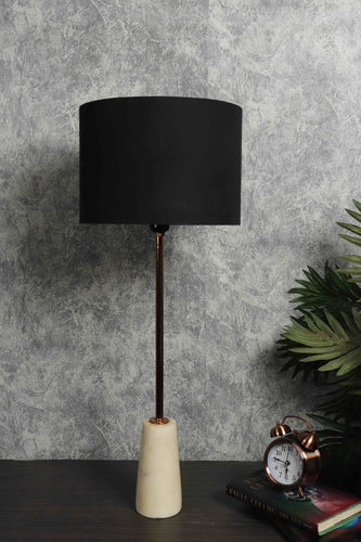 Roseata Marble Table Lamp with 4 shades