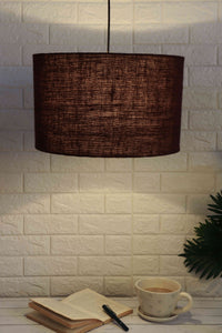 brown lampshade