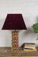 Load image into Gallery viewer, Color Bomb Table Lamp 2 [Velvet, Green Velvet] Lampshade