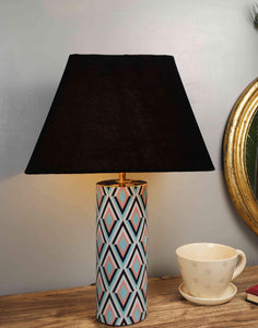 Phantom Table Lamp with 4 Trapezium [VELVET, BLACK, WHITE, BEIGE] Shade