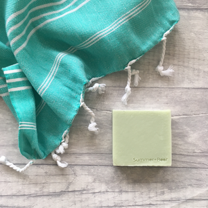 Handmade Soap and Mini Towel Gift Set