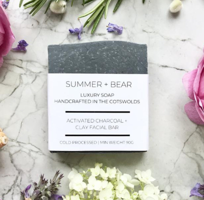 Luxury Charcoal Facial Soap