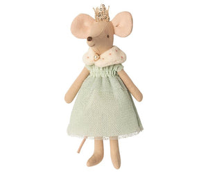 Maileg clothes for Queen Mouse - Mom Mouse - Blue