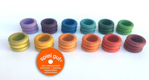 Grapat Rings x36 (12 colors)