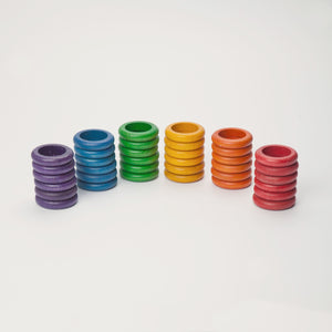 Grapat Rings x36 (6 colors)