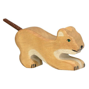 Holztiger Playing Lion, Small
