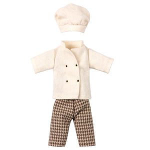 Maileg Chef Clothes for Mouse - Mom or Dad