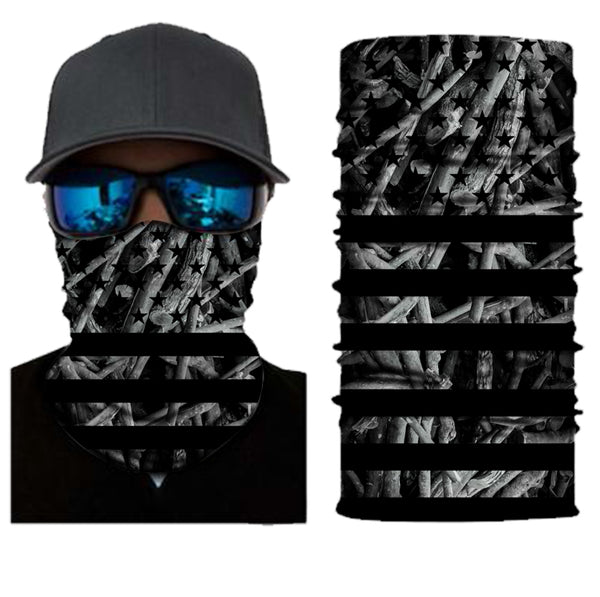 (S130) USA Flag/Camo Gaiter