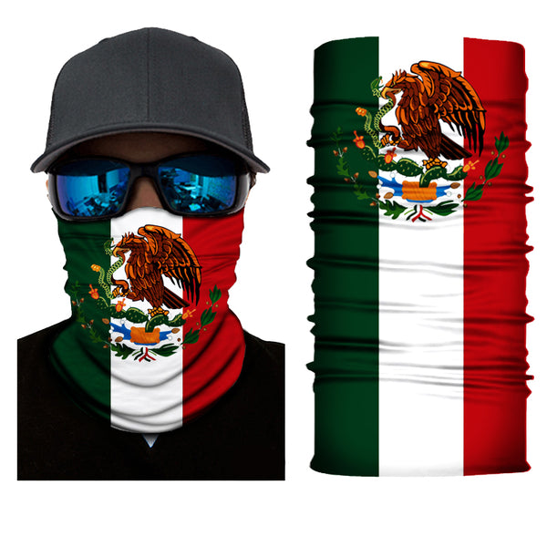 (S154) Flag of Mexico Gaiter