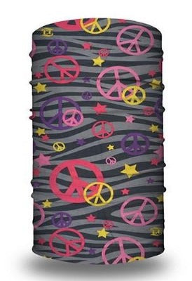 (BC4057) Peace Sign Gaiter #1
