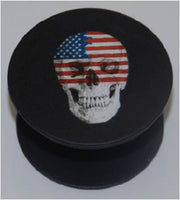 Expandable Phone Grip - USA Flag Skull