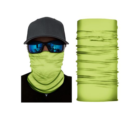 (S169) Fluorescent Yellow Gaiter