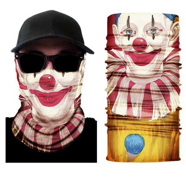 (S111) Clown Face Gaiter