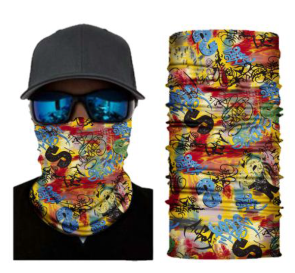 (S134) Graffiti Gaiter