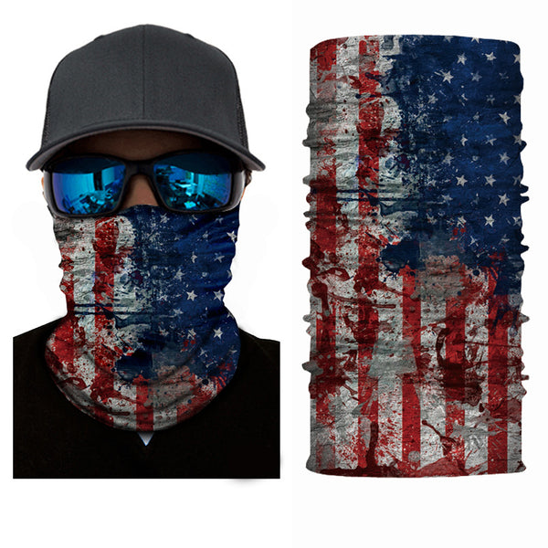 (S015) USA Flag Gaiter