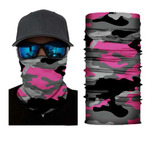 (FL-S174) Pink Camo Gaiter (FLEECE LINED)