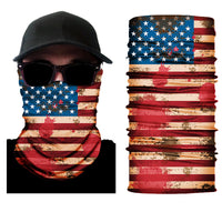 (S001) USA Flag Gaiter