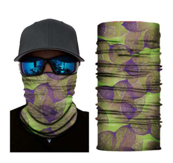 (S207) Green/Purple Gaiter