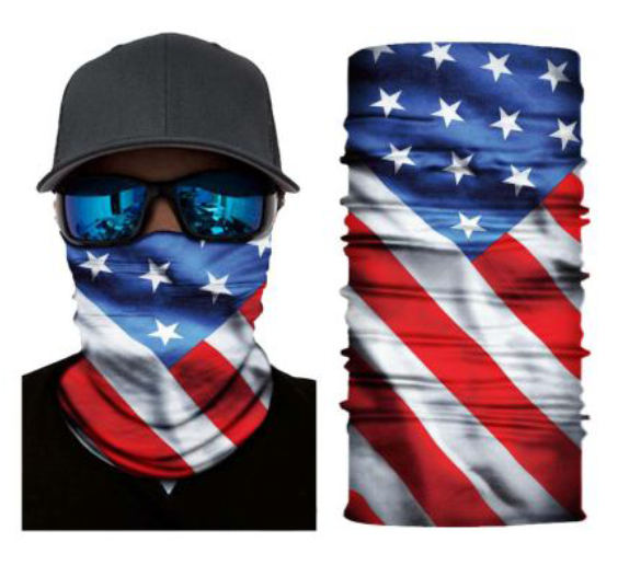 (S214) USA Flag Gaiter
