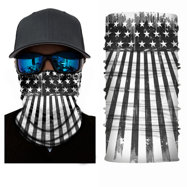 (S026) USA Flag Gaiter