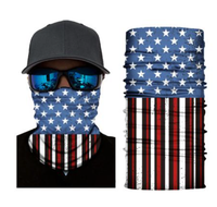 (S290) USA Flag Gaiter
