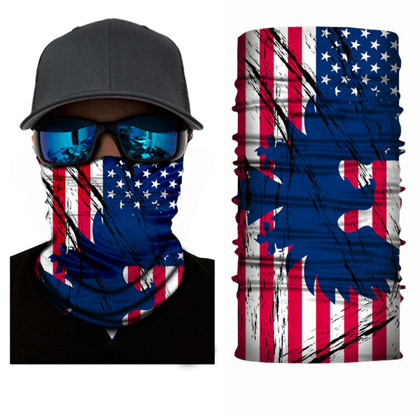 (S052) USA Flag with Eagle Gaiter