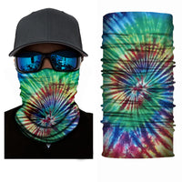 (FL-S059)Tie Dye Gaiter (FLEECE LINED)