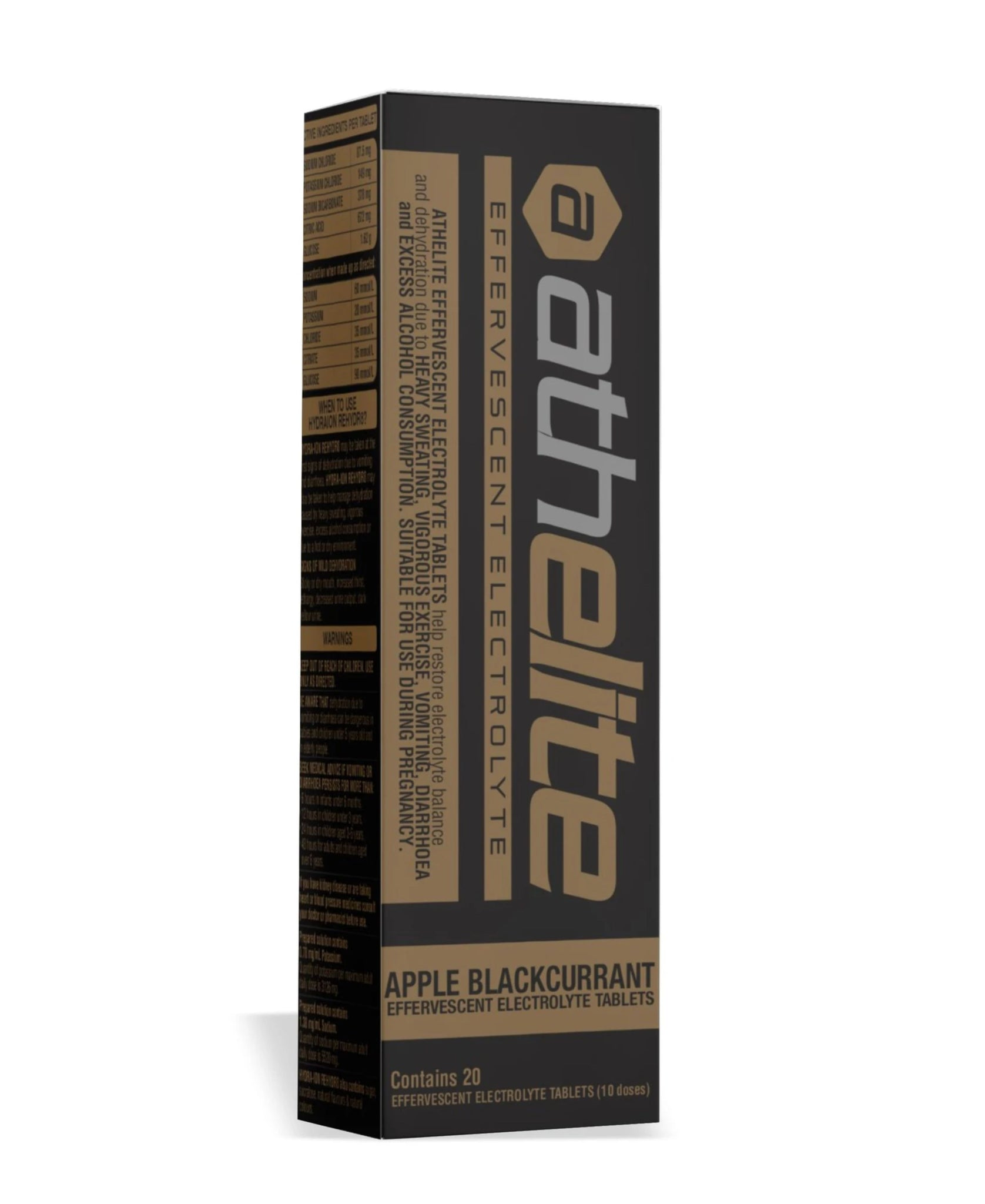 ATHELITE – REHYDR8 HYDRATION ELECTROLYTE EFFERVESCENT TABLETS (20)