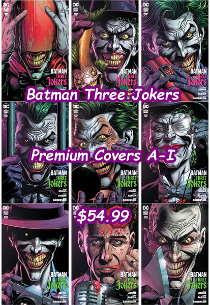 Batman Three Jokers Bundles