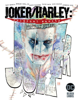 JOKER HARLEY CRIMINAL SANITY SECRET FILES #1 (ONE SHOT) CVR A DAVID MACK