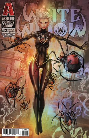 White Widow #2 (Holographic Variant)