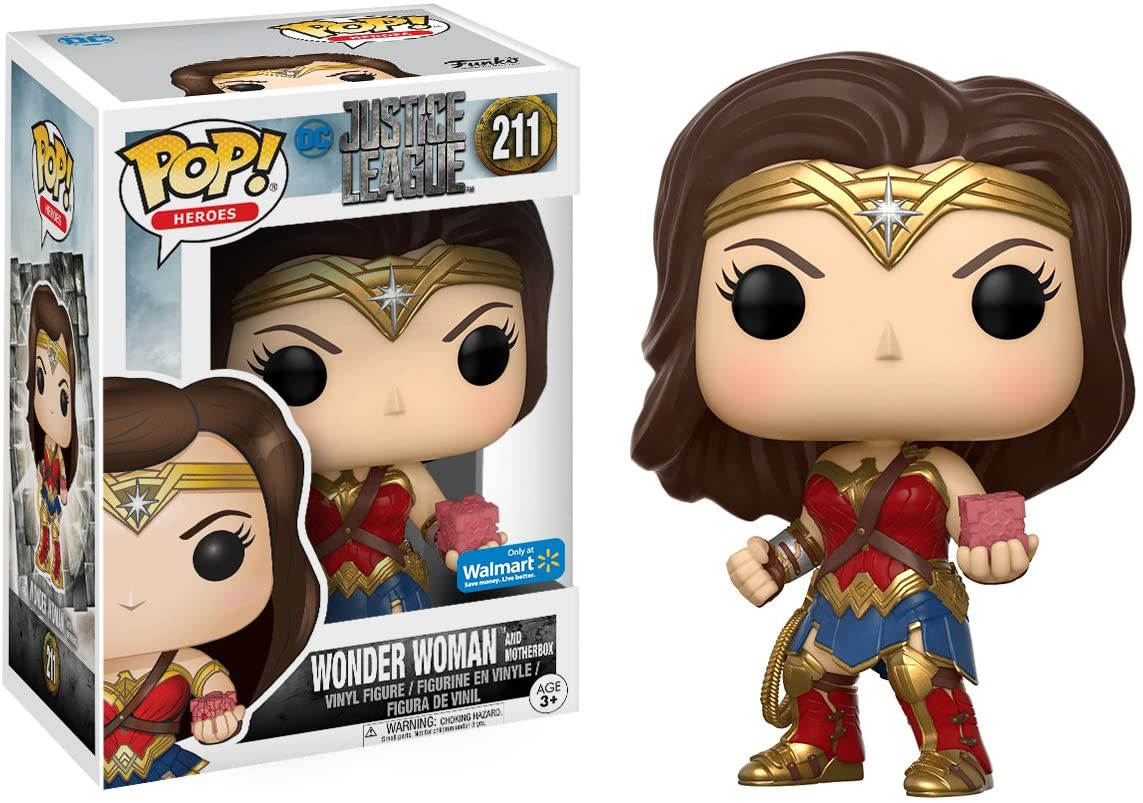 Wonder Woman Funko POP DC Justice League 211