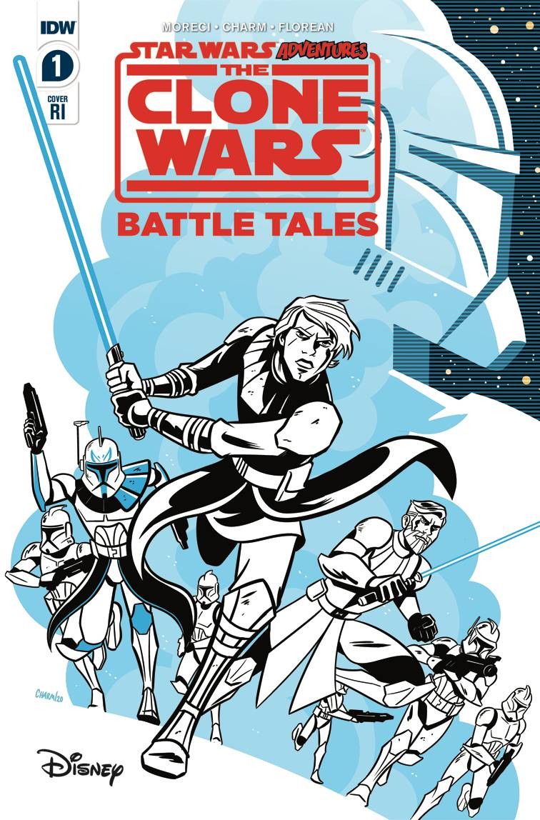 STAR WARS ADVENTURES CLONE WARS #1 VARIANT 1:10