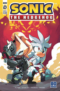 Sonic The Hedgehog #28 Cover B