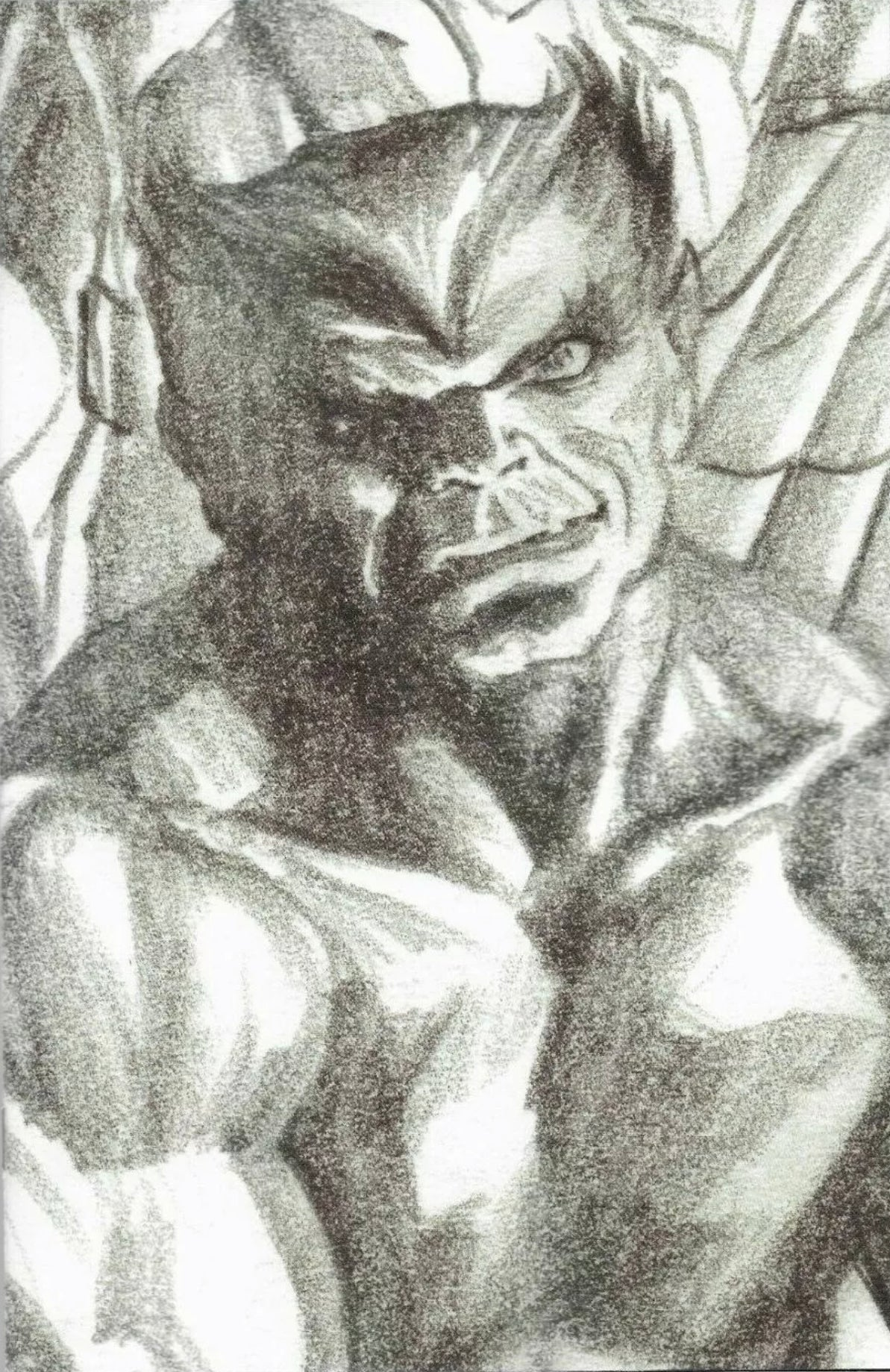 X-FORCE #13 ALEX ROSS BEAST TIMELESS 1:100 VIRGIN SKETCH VARIANT XOS
