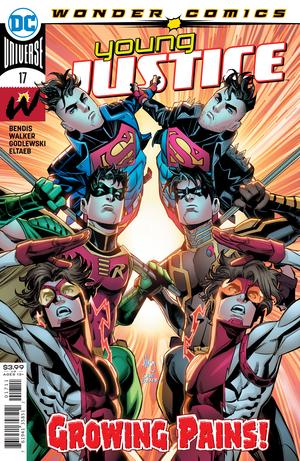 YOUNG JUSTICE #17 COVER A JOHN TIMMS