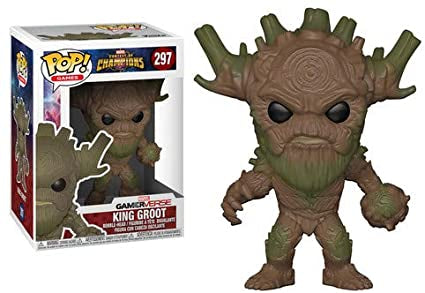Groot King Funko POP Games Marvel Contest of Champions 297
