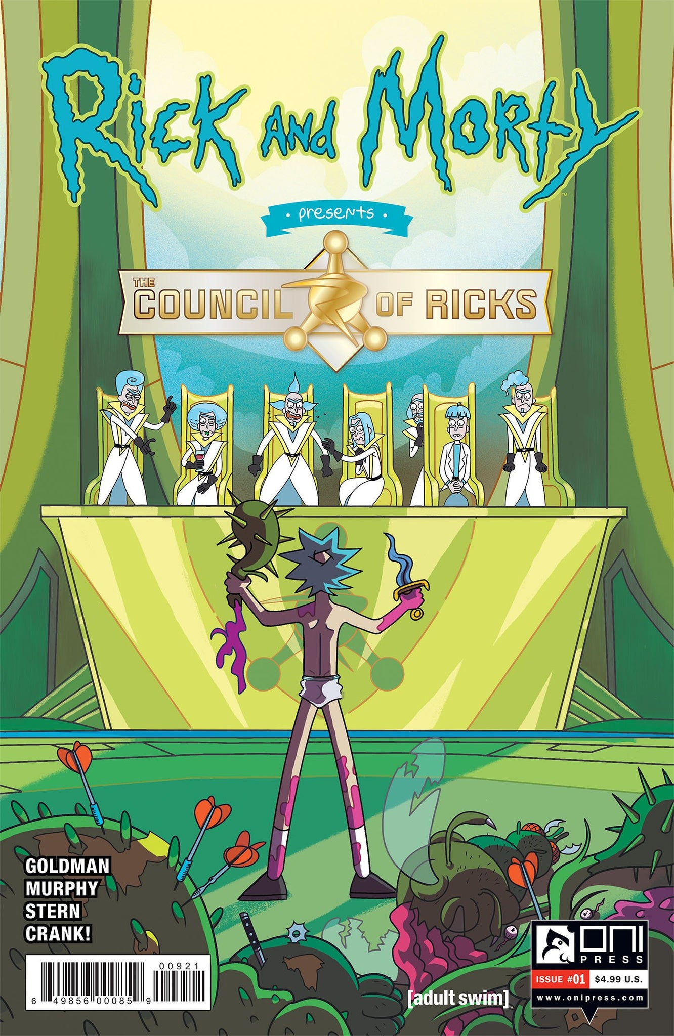 Rick and Morty 01 Council of Ricks (Adult Swim)
