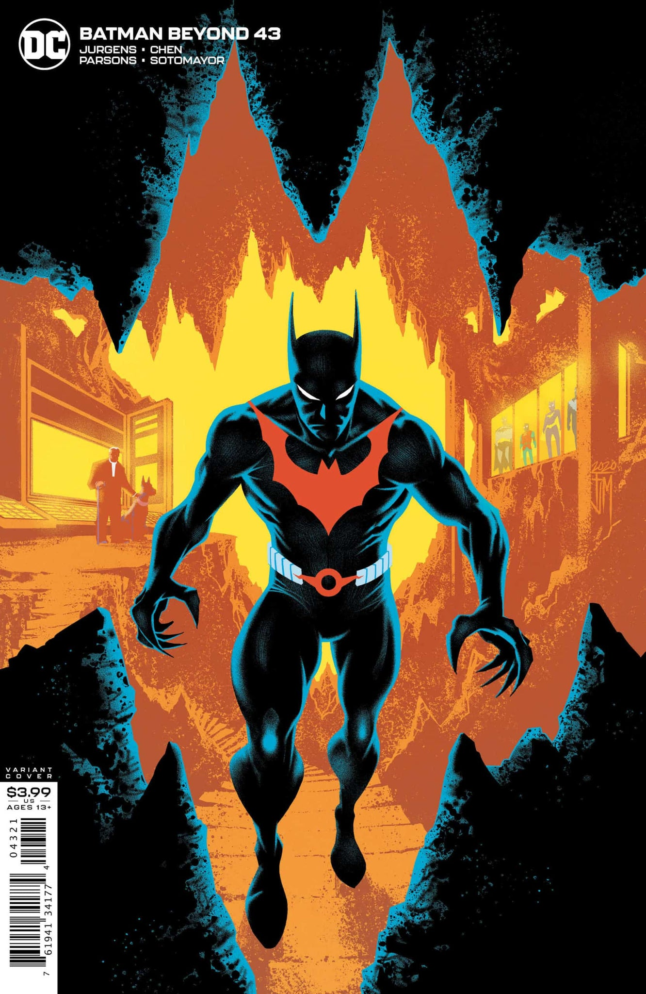 Batman Beyond 43 Variant Edition