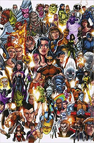 X-FORCE #1 BAGLEY EVERY MUTANT EVER VAR DX